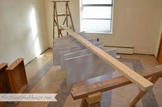 The Stonybrook House: Cabinet Painting ~ HomeRight Fine Finish Sprayer