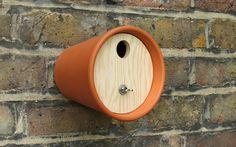 Birds Nest box from pots