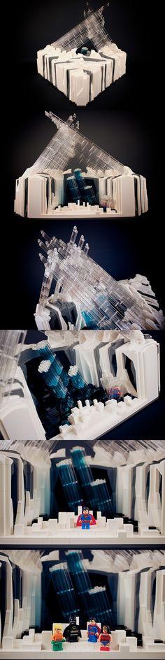 Fortress of Solitude - Secret Arctic Citadel