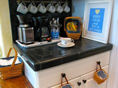 MAY DAYS: The Coffee Station