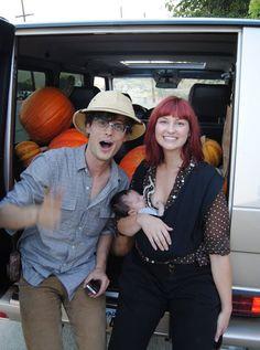 Matthew Gray Gubler and Laura Dahl (his sister!)