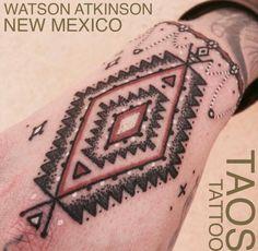 Navajo weave tattoo                                                       …