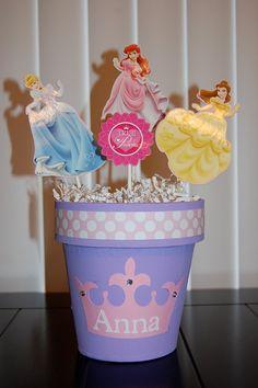 Princess Centerpiece by KeepsakeToppers on Etsy, $18.00