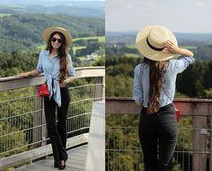 Ramona Crisstea - Hat, Shirt, Jeans, Bag - Panarbora