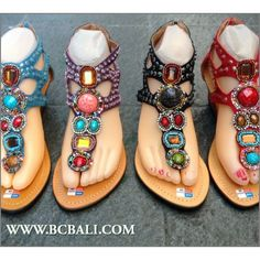 Wedges Sandals Ladies Beads Leather Party Heels - wedges sandals ladies beads leather party heels, bohemian style wedges beads sandal