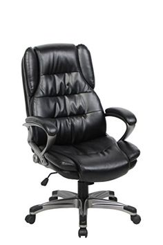amazoncom united chair uoc8045gr high back mesh and fabric swivel office chair with upholstery headrest and seat grey home u0026 kitchen pinterest