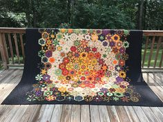 King Sized Fall Quilt | rachelmhayes