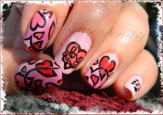 Baurorenail valentine #nail #nails #nailart