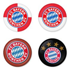 "BAYERN MUNICH Football Club 1.75"" Badges Pinbacks, Mirror, Magnet, Bottle Opener Keychain http://www.amazon.com/gp/product/B00K3U2JTC"