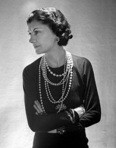 Coco Chanel images - Coco Chanel - coco chanel facts and quotes.jpg. The art of wearing pearls