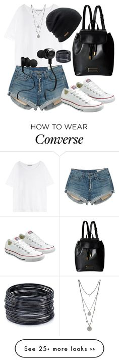 """""""Daily"""" by wulandmay on Polyvore featuring Acne Studios, rag & bone, Converse, Marc by Marc Jacobs, Coal, Monster, ABS by Allen Schwartz and Vince Camuto"""