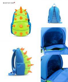 Visit to Buy  WORTHFIND Animal Waterproof Kids Baby Bags Kindergarten  Neoprene Dinosaur Children School a1457c2ff1