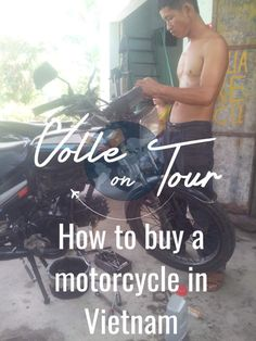 My guide and tips on how to buy a motorcycle in Vietnam  Check it out and share it, if you like it!  #travel #vietnam #motorbike #tour #motorcycle #southeast #asia #traveller #guide #tips #traveltip #traveltips #backpacker #backpackertip #backpackertips #wanderlust #traveldiary