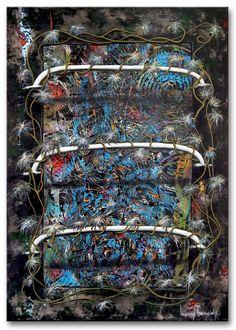 "Title: ""Unplanned Nr.22"" .  Size: 39.4''X27.6'' , (100X70cm) .  Medium: acrylic on canvas .  Year: 2014 .  © art of Ioannis Tsaousidis"