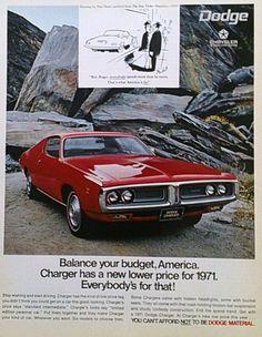 Original 1971 Dodge Charger Vintage Magazine by Inkart on Etsy, $3.00