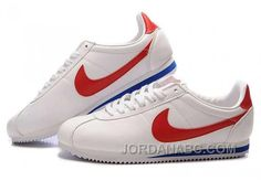 http://www.jordanabc.com/nike-cortez-leather-women-shoes-white-red.html NIKE CORTEZ LEATHER WOMEN SHOES WHITE RED Only $76.00 , Free Shipping!