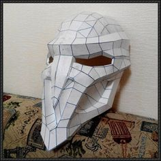 Overwatch - Reaper Mask Papercraft Free Download - http://www.papercraftsquare.com/overwatch-reaper-mask-papercraft-free-download.html