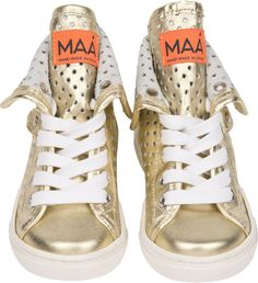 Buy Maa Girls Rio Trainers in Gold at Elias & Grace. Browse this seasons cutest Girls Shoes handpicked by Elias & Grace
