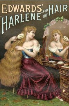 WOW thats some hair product! Vintage Advertisements #VINTAGE #ads