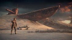 Image result for mad max desert ruins
