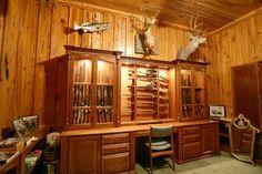 Custom Amish Gun Cabinets http://ammocollector.blogspot.com/
