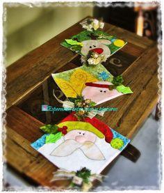 Navidad de la A a la Z.....Letra C Christmas Plates, Christmas Fabric, Christmas Decorations, Christmas Ornaments, Christmas Sewing Projects, Holiday Crafts, Holiday Decor, All Things Christmas, Christmas Time