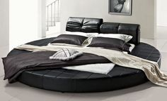 Round Bed Bedroom Designs.