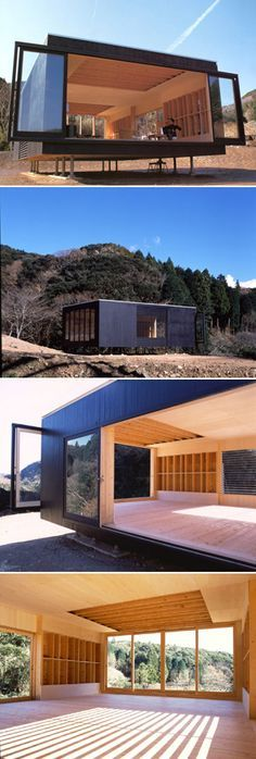 Intéressant concept #architectural où le bois garde la chaleur et où la lumière est reine. #dccv #ducôtédechezvous #tinyhouse #mini #archi #tendance #design #tokyo