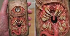 Creepy Phone Case By Dental Technician Morgan Loebel | Bored Panda
