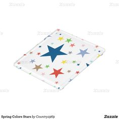 Shop Spring Colors Stars Glass Coaster created by Personalize it with photos & text or purchase as is! Glass Coasters, Star Patterns, Spring Colors, Print Design, Stars, Fall, Prints, Artwork, Autumn