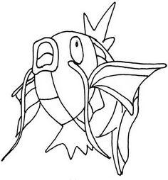 Pokemon Fargelegging. Tegninger 90