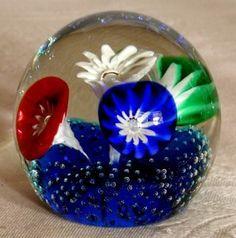 Venetian Murano Glass Fratelli Toso Paperweight | eBay