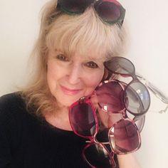 Dior/Chanel/Gucci - Vintage-Sunglasses Vintage Sunglasses, Vintage Gucci, Over Ear Headphones, Dior, Gold, Chanel, Fashion, Necklaces, Bangle Bracelet