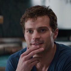 Christian being gorgeous in new Fifty Shades tv spot 7 http://www.pinterest.com/lilyslibrary/ Christian