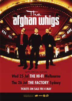 The Afghan Whigs July 2012