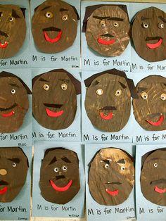 MLK Preschool Activity