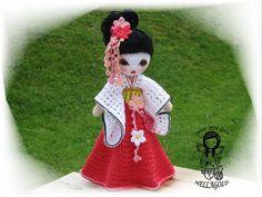 Crochet PATTERN uncinetto bambola di NellagoldsCrocheting su Etsy
