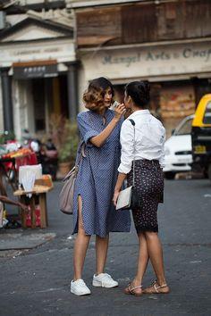 On the Street…..Drashta & Jahnavi, Mumbai (via Bloglovin.com )