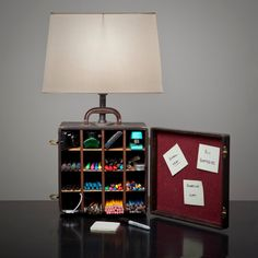 Wish I Could Make This . . .  A Box Lamp has your Storage & Organization Needs by BlinkLab, $190.00
