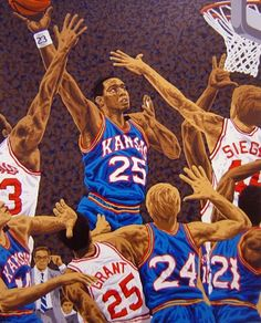 National Champions: Kansas Jayhawks by Rick Rush