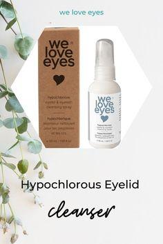 We Love Eyes: Hypochlorous Eyelid Cleansing Natural Eyelashes, Skincare Blog, Cruelty Free Makeup, Diy Skin Care, Cleanses, Eyelash Extensions, Natural Skin Care, Makeup Inspiration, Best Makeup Products