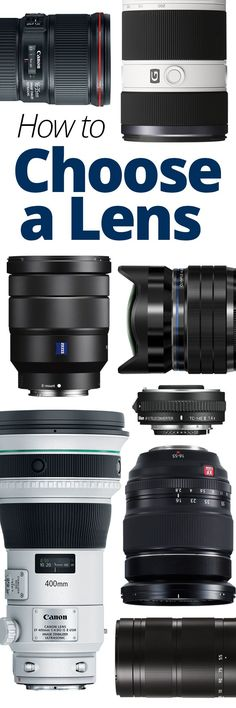 Find out how to determine compatibility with your camera. How to decide the focal length, aperture and image stabilization that is right for you. This article also covers common shooting scenarios like portraits, landscapes, indoor photography and nature Indoor Photography, Photography Camera, Photography Business, Love Photography, Digital Photography, Photography Hashtags, Photography Lighting, Children Photography, Photography Cheat Sheets