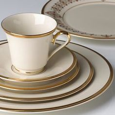 Lenox Eternal goes with everything and looks sooo elegant & Lenox Republic china set very elegant | wedding ideas | Pinterest ...