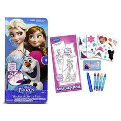 Tara Toy Frozen Sticker Activity Fun Kit