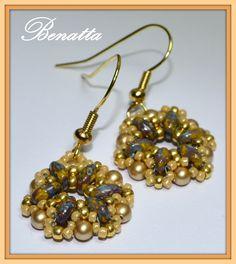 La Perla Benatta: Beaded Balls variation