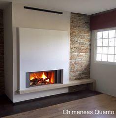 Chimenea Quento modelo Doiro con Stuv 21/105 | www.quento.es… | Flickr