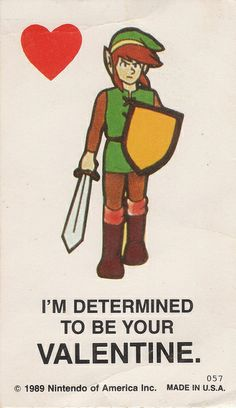 Legend of Zelda - Link Valentine