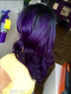 Purple hair is for royalty