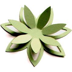 ALAA' K Silhouette Design Store - View Design #18209: 3d cutout flower