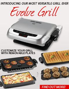 George Foreman Grill..want all the attachments!